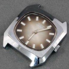 Relojes de pulsera: RELOJ A CUERDA VANROY 17 RUBIS INCABLOC ESFERA MARRÓN FUNCIONA. Lote 54390094