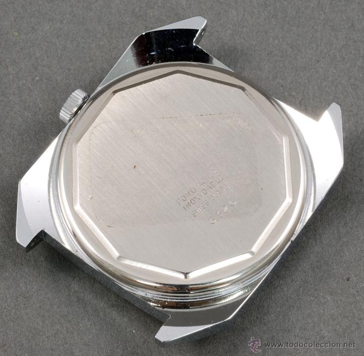 Relojes de pulsera: Reloj a cuerda Vanroy 17 rubis Incabloc esfera marrón Funciona - Foto 2 - 54390094
