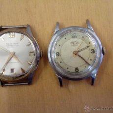 Relojes de pulsera: DOS RELOJES, UN MEDA Y UN MULTI PRIMA SUPERFLAT 21. Lote 54393940