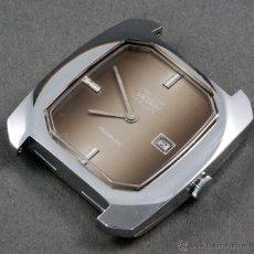 Relojes de pulsera: RELOJ A CUERDA VANROY 17 RUBIS INCABLOC ESFERA MARRÓN FUNCIONA. Lote 54404902