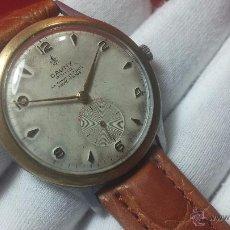 Relojes de pulsera: RELOJ SUIZO CAUNY PRIMA, LA CHAUX DE FONS, ESCASO CAL. F-399, ANCRE 17 RUBIS, GRANDE, ANTIMAGNETIC. Lote 54420927