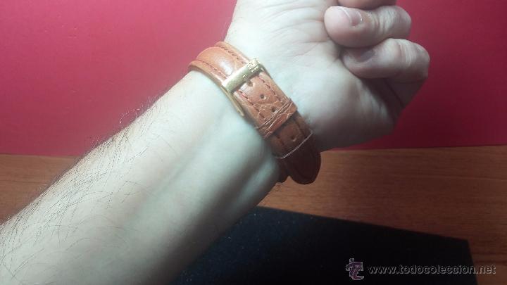 Relojes de pulsera: RELOJ Suizo CAUNY PRIMA, LA CHAUX DE FONS, escaso CAL. F-399, ancre 17 rubis, grande, Antimagnetic - Foto 20 - 54420927
