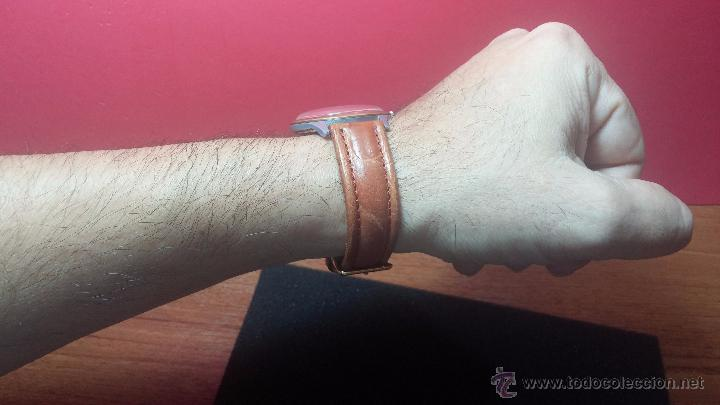 Relojes de pulsera: RELOJ Suizo CAUNY PRIMA, LA CHAUX DE FONS, escaso CAL. F-399, ancre 17 rubis, grande, Antimagnetic - Foto 21 - 54420927
