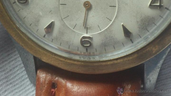 Relojes de pulsera: RELOJ Suizo CAUNY PRIMA, LA CHAUX DE FONS, escaso CAL. F-399, ancre 17 rubis, grande, Antimagnetic - Foto 28 - 54420927