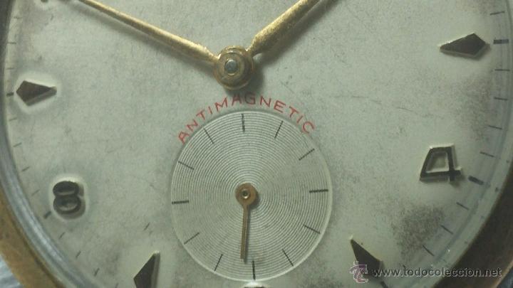 Relojes de pulsera: RELOJ Suizo CAUNY PRIMA, LA CHAUX DE FONS, escaso CAL. F-399, ancre 17 rubis, grande, Antimagnetic - Foto 29 - 54420927