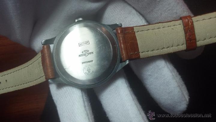 Relojes de pulsera: RELOJ Suizo CAUNY PRIMA, LA CHAUX DE FONS, escaso CAL. F-399, ancre 17 rubis, grande, Antimagnetic - Foto 40 - 54420927