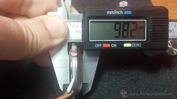 Relojes de pulsera: RELOJ Suizo CAUNY PRIMA, LA CHAUX DE FONS, escaso CAL. F-399, ancre 17 rubis, grande, Antimagnetic - Foto 45 - 54420927