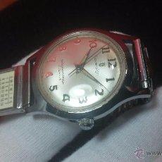 Relojes de pulsera: RELOJ SOVEREING SOUVERAIN SHOCK ABSORBER, 17 RUBÍS, FINALES DE LOS 50, PIEZA DE COLECCIONISTA.... Lote 54429899