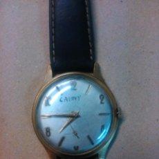 Relojes de pulsera: RELOJ DE PULSERA DE CABALLERO DE CARGA MANUAL CAUNY. Lote 54510532