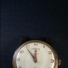 Relojes de pulsera: RELOJ PULSERA OMEX CADETE .FUNCIONANDO. Lote 54534200