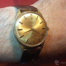 Relojes de pulsera: RELOJ CAUNY PRIMA DE 17 RUBÍS, CALIBRE FEF-290 Y BELLA ESFERA COLOR CHAMPAGNE, AÑOS 60. Lote 54581259
