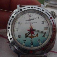 Relojes de pulsera: RELOJ MILITAR RUSO VOSTOK KOMANDINSKI SUMERGIBLE. Lote 54591921