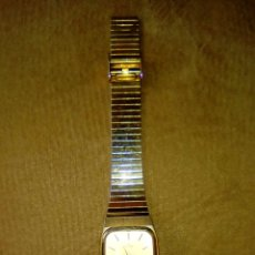 Relojes de pulsera: RELOJ DE PULSERA MARCA TITAN COLOR DORADO. Lote 54608993