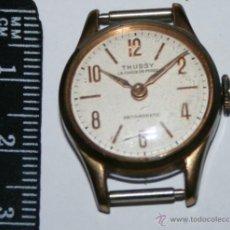 Relojes de pulsera: BONITO RELOJ ANTIGUO SUIZO THUSSY LA CHAUX-DE-FONDS ANTIMAGNETIC. Lote 54705072
