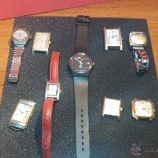 Relojes de pulsera: LOTE DE RELOJ O RELOJES, NUEVE EN TOTAL.... 3 DE CUERDA MANUAL, 2 AUTOMÁTICOS Y 4 DE CUARZO.... Lote 54889430