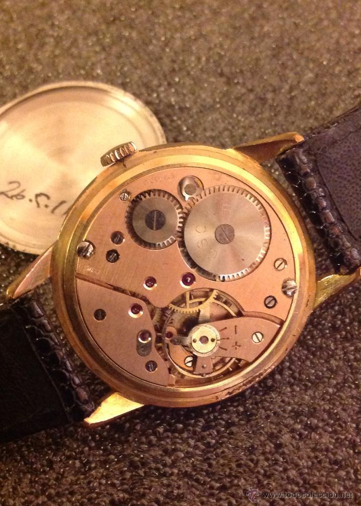 Relojes de pulsera: Reloj Oscar. Movimiento Landeron 523. Usado por Breitling. Funciona. - Foto 6 - 54991659