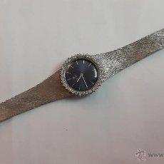 Relojes de pulsera: RELOJ OMEGA ORO BLANCO CUERDA. Lote 75980950