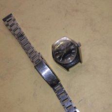 Relojes de pulsera: RELOJ DE SEÑORA SERTY - 21 RUBÍES - INCABLOC - FUNCIONANDO. Lote 55085387