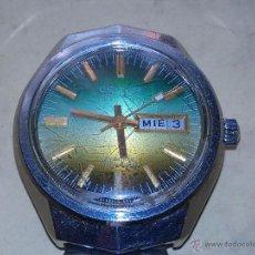 Relojes de pulsera: RELOJ DE CABALLERO CETEOR AUTOMATIC - - 21 RUBÍES - INCABLOC - FUNCIONANDO. Lote 55085824