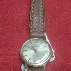Relojes de pulsera: RELOJ DUWARD DE SEÑORA CARGA MANUAL 17 RUBIS FUNCIONANDO. Lote 55115269
