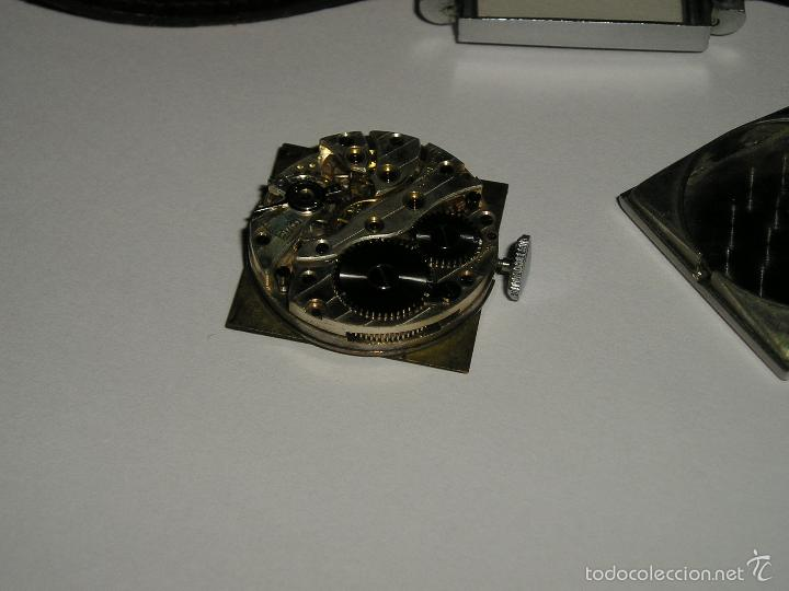 Relojes de pulsera: RELOJ SUIZO CUADRADO DE ACERO 1930, COMO NUEVO - Foto 6 - 49043556