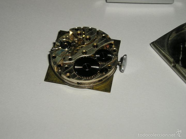 Relojes de pulsera: RELOJ SUIZO CUADRADO DE ACERO 1930, COMO NUEVO - Foto 7 - 49043556