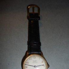 Relojes de pulsera: ANTIGUO RELOJ - CHAPADO CAUNY PRIMA LA CHAUX DE FONDS ANCRE 17 RUBIS - FUNCIONANDO . Lote 55311343