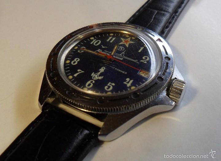 Comandante Vostok Wostok Sold Mecánico De Reloj DIHE29