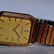 Relojes de pulsera: RELOJ DE PULSERA CITIZEN, CUERDA, VINTAGE, CAJA CUADRADA (#4). Lote 55374651