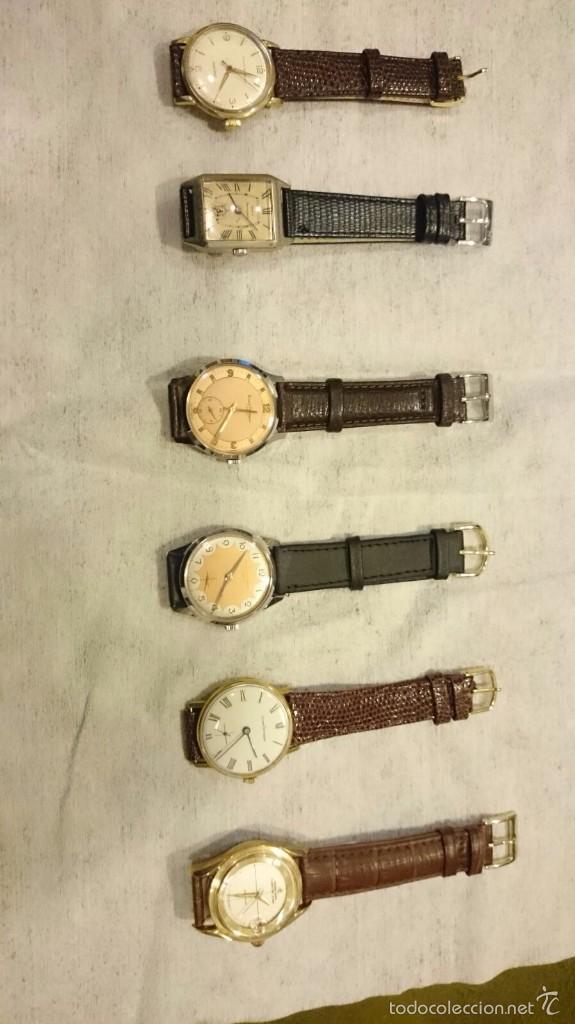 Relojes de pulsera: 18 RELOJES DE PULSERA a CUERDA DE COLECCION ,Girardot Perregaux ,Longines, Hermes etc - Foto 4 - 55554471