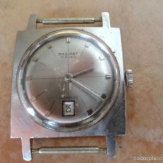 Relojes de pulsera: VINTAGE RELOJ, RADIANT, 17 RUBIS,INCABLOC. Lote 55803468