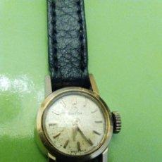 Relojes de pulsera: RELOJ OMEGA SEÑORA, DE CUERDA, ANTIGUO, ORO DE 18 K.. Lote 55859832