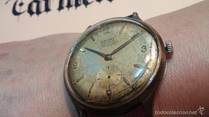 Relojes de pulsera: Reloj Cauny La Chaux de Fons grande de hombre MUY ANTIGUO antiquisimo, para reparar, no anda - Foto 6 - 166346132