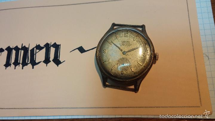 Relojes de pulsera: Reloj Cauny La Chaux de Fons grande de hombre MUY ANTIGUO antiquisimo, para reparar, no anda - Foto 7 - 166346132