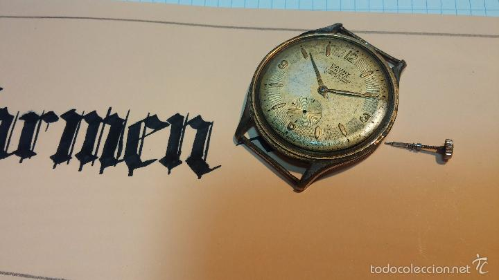 Relojes de pulsera: Reloj Cauny La Chaux de Fons grande de hombre MUY ANTIGUO antiquisimo, para reparar, no anda - Foto 10 - 166346132