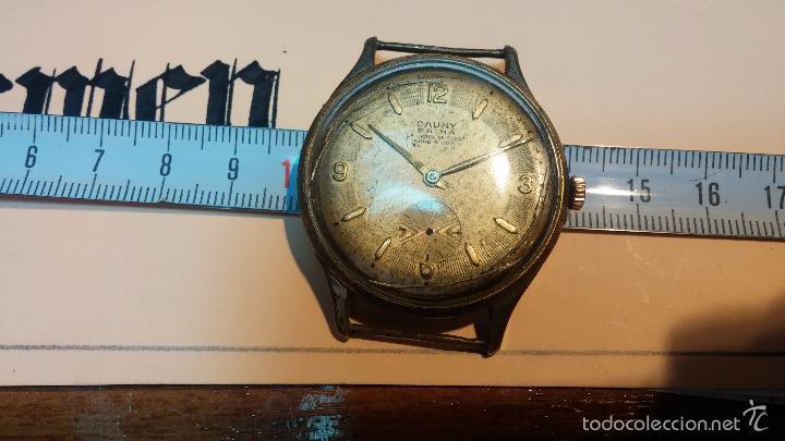 Relojes de pulsera: Reloj Cauny La Chaux de Fons grande de hombre MUY ANTIGUO antiquisimo, para reparar, no anda - Foto 12 - 166346132