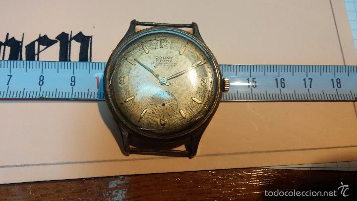Relojes de pulsera: Reloj Cauny La Chaux de Fons grande de hombre MUY ANTIGUO antiquisimo, para reparar, no anda - Foto 13 - 166346132