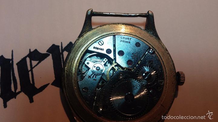 Relojes de pulsera: Reloj Cauny La Chaux de Fons grande de hombre MUY ANTIGUO antiquisimo, para reparar, no anda - Foto 15 - 166346132