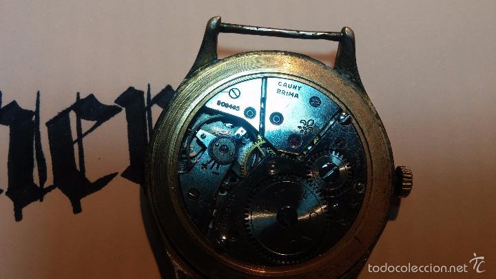 Relojes de pulsera: Reloj Cauny La Chaux de Fons grande de hombre MUY ANTIGUO antiquisimo, para reparar, no anda - Foto 17 - 166346132