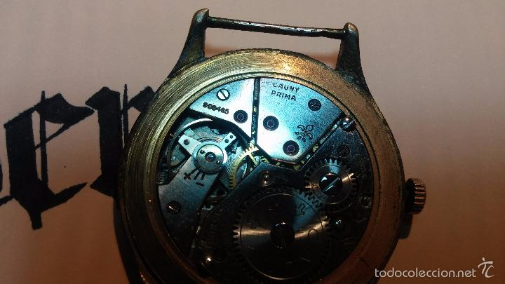 Relojes de pulsera: Reloj Cauny La Chaux de Fons grande de hombre MUY ANTIGUO antiquisimo, para reparar, no anda - Foto 18 - 166346132