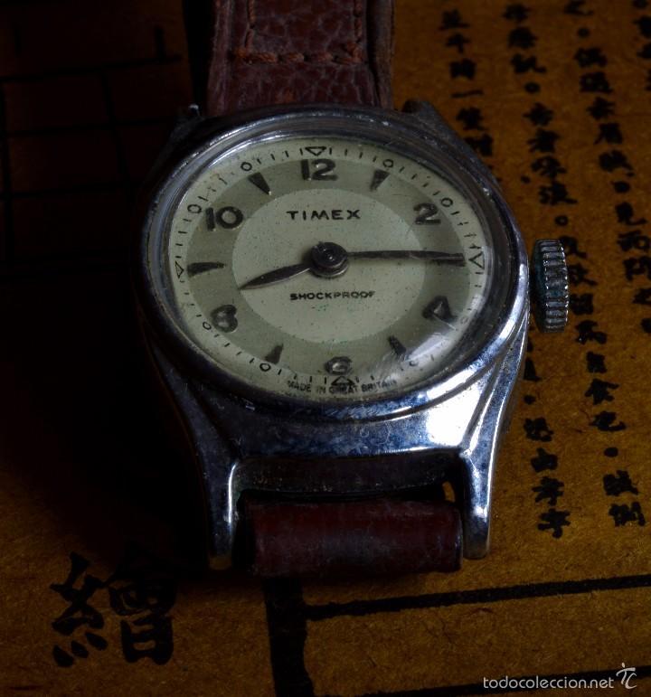 RELOJ DE PULSERA TIMEX, BRITÁNICO, MUJER, VINTAGE (#2) (Relojes - Pulsera Carga Manual)