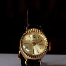 Relojes de pulsera: RELOJ DE PULSERA TIMEX, MUJER, CUERDA, VINTAGE (#5). Lote 56170632
