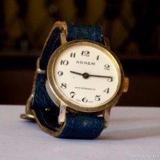 Relojes de pulsera: RELOJ SUIZO ADREM , MUJER, CUERDA, VINTAGE. COLECCIONISTAS. Lote 56170944