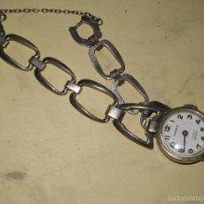 Relojes de pulsera: CAREX DE SEÑORA - 17 JEWELS - ANTICHOC - CON CONTRASTE DEL PLATERO. Lote 56175806