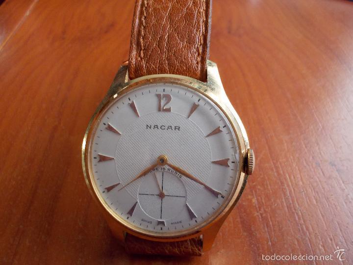 diseño novedoso descuento mejor valorado mayor selección Reloj Marca Nacar