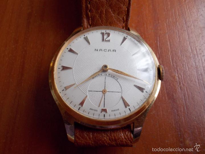 Relojes de pulsera: Reloj Marca Nacar - Foto 2 - 56188074