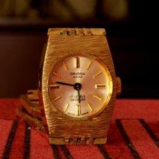 Relojes de pulsera: RELOJ VINTAGE PARA MUJER ORIOSA SWISS , MECÁNICO. Lote 56213399