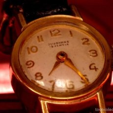 Relojes de pulsera: RELOJ DE PULSERA VINTAGE, MUJER, MARCA JUNGHANS , ALEMÁN, MECÁNICO . Lote 56214124