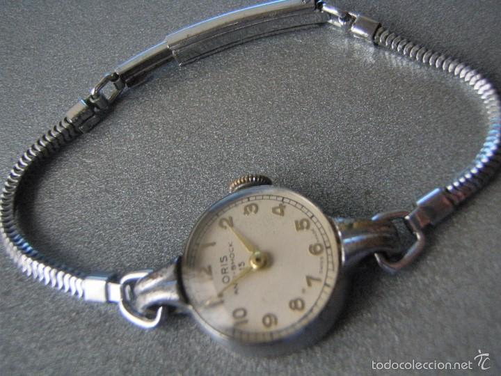 615acd178def 4 fotos ORIS CHAPADO ORO BLANCO 1940 P218A (Relojes - Pulsera Carga Manual)  ...