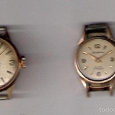 Relojes de pulsera: 2 RELOJES DE PULSERA ( MANUAL ) ANTIGUOS. Lote 56271079